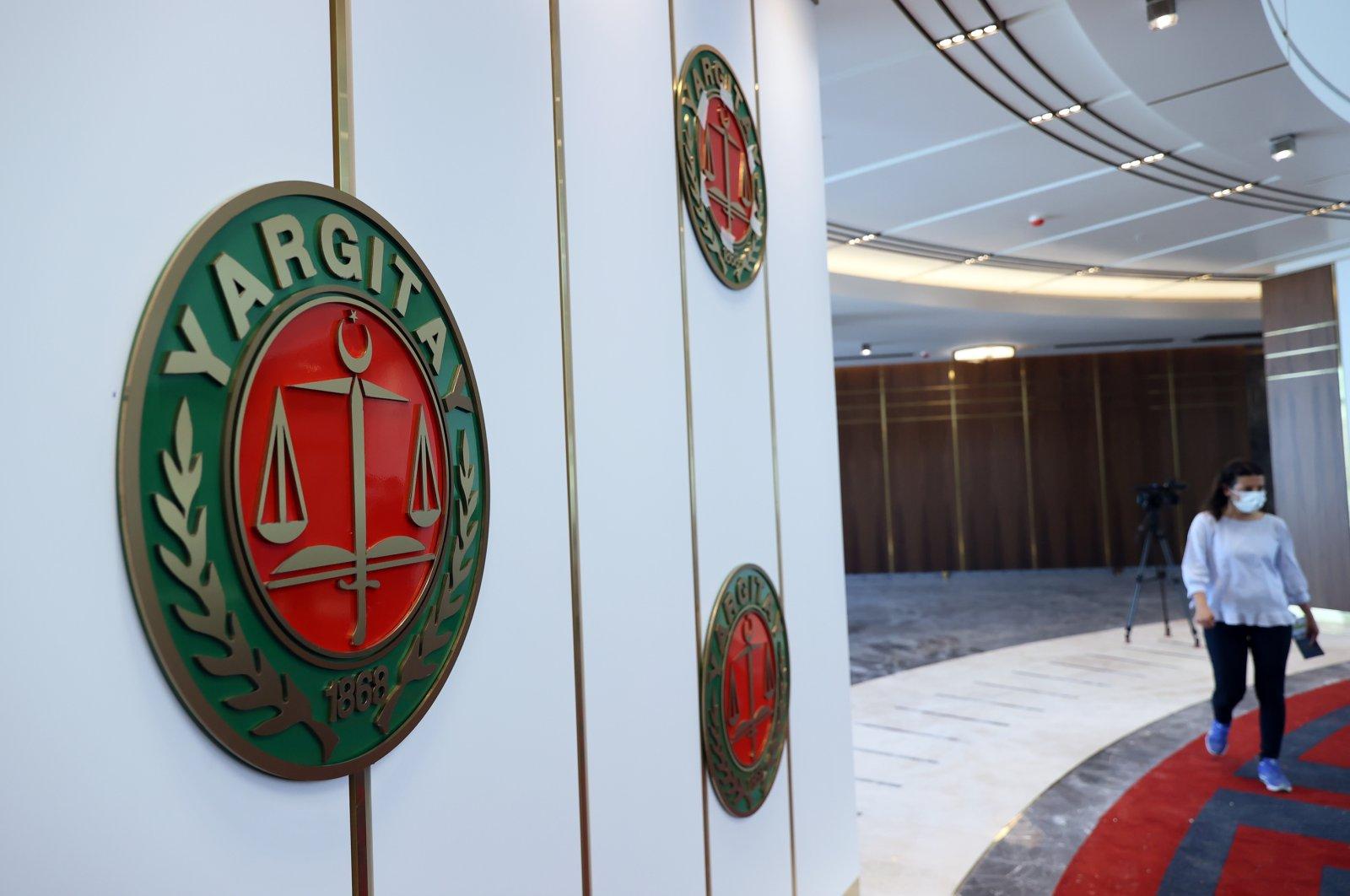 The new Court of Cassation (Yargıtay) building in Ahlatlıbel district, Ankara, Turkey, Aug. 26, 2021. (AA Photo)