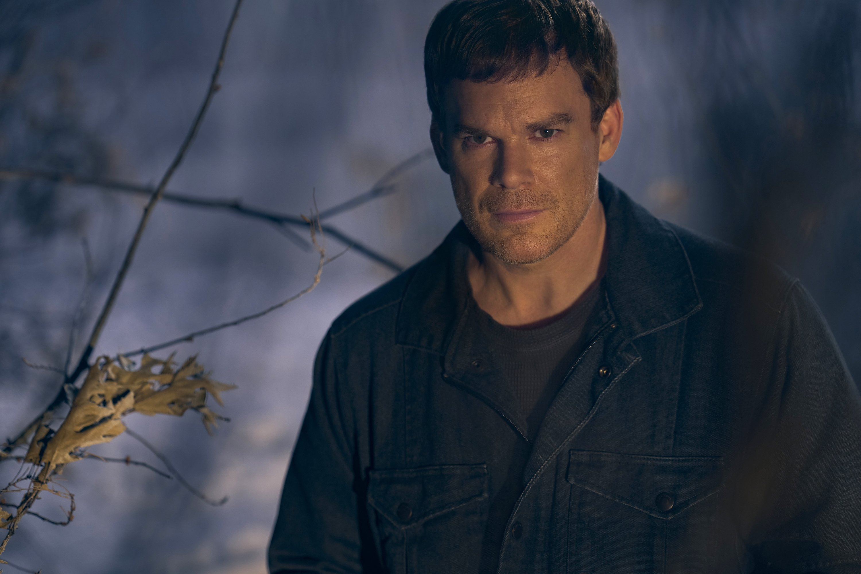 Michael C. Hall, in a scene from the series 'Dexter: New Blood,' premiering on Nov. 7, 2021. (Showtime via AP)