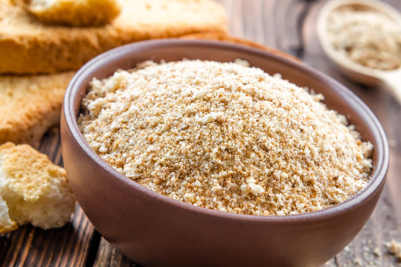 Bread crumbs. (Shutterstock Photo)