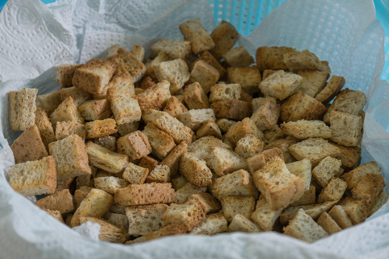 Croutons. (Shutterstock Photo)