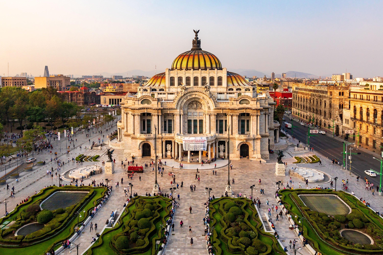 Palacio De Bellas Artes, Mexico City, Mexico. (Shutterstock Photo)
