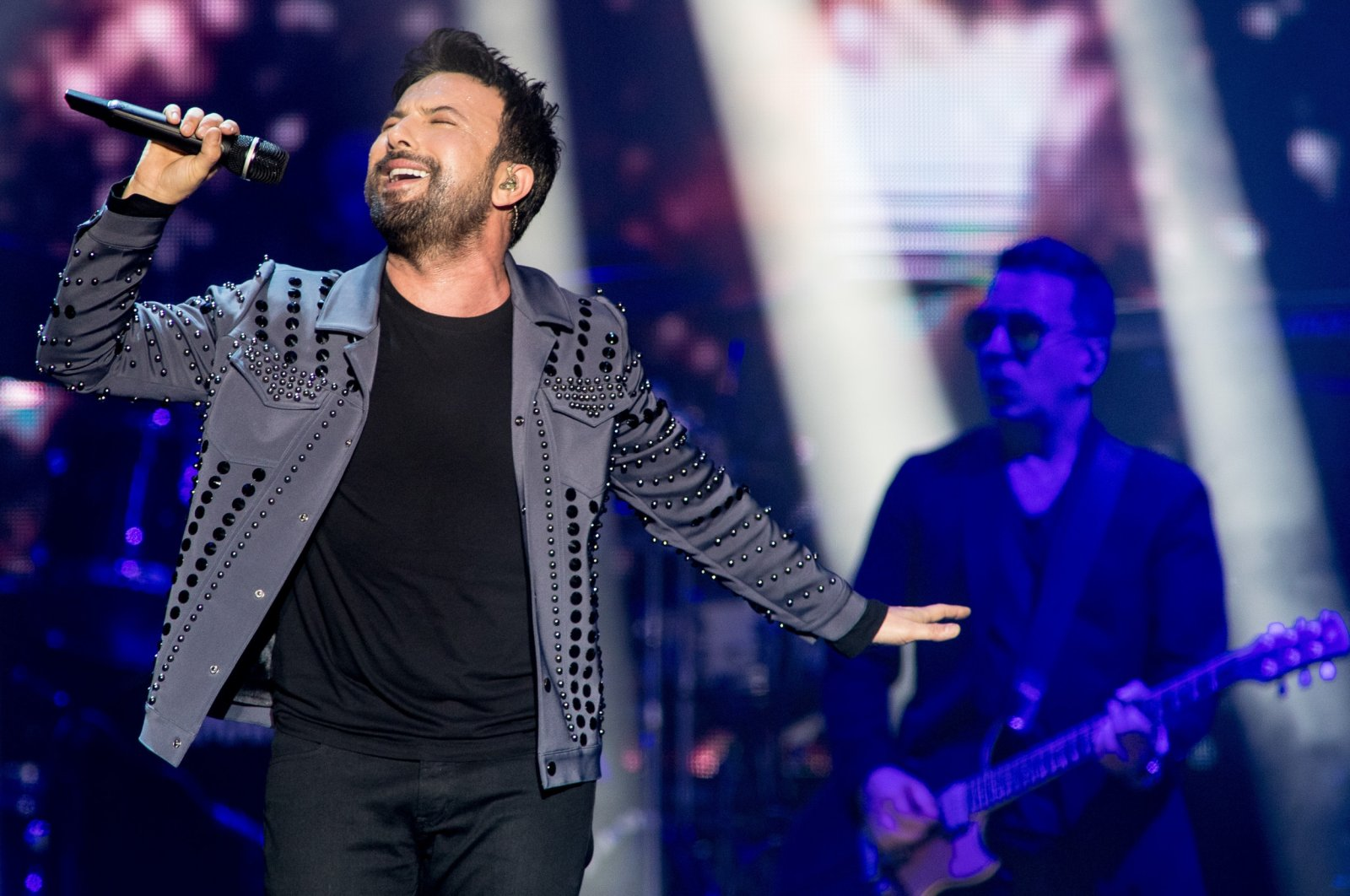 Turkish pop singer Tarkan performs at Afas Live, Amsterdam, Netherlands, November 14, 2019. (Getty Images)