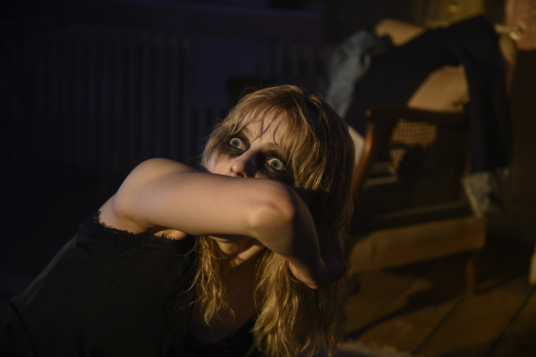 Thomasin McKenzie, in a scene from Edgar Wright's 'Last Night in Soho.' (Focus Features via AP)