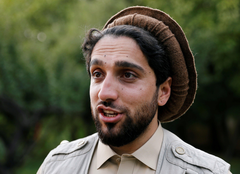 Ahmad Massoud, son of the slain hero of the anti-Soviet resistance, Ahmad Shah Massoud, speaks during an interview at his house in Bazarak, Panjshir province, Afghanistan, Sept. 5, 2019. (Reuters Photo)