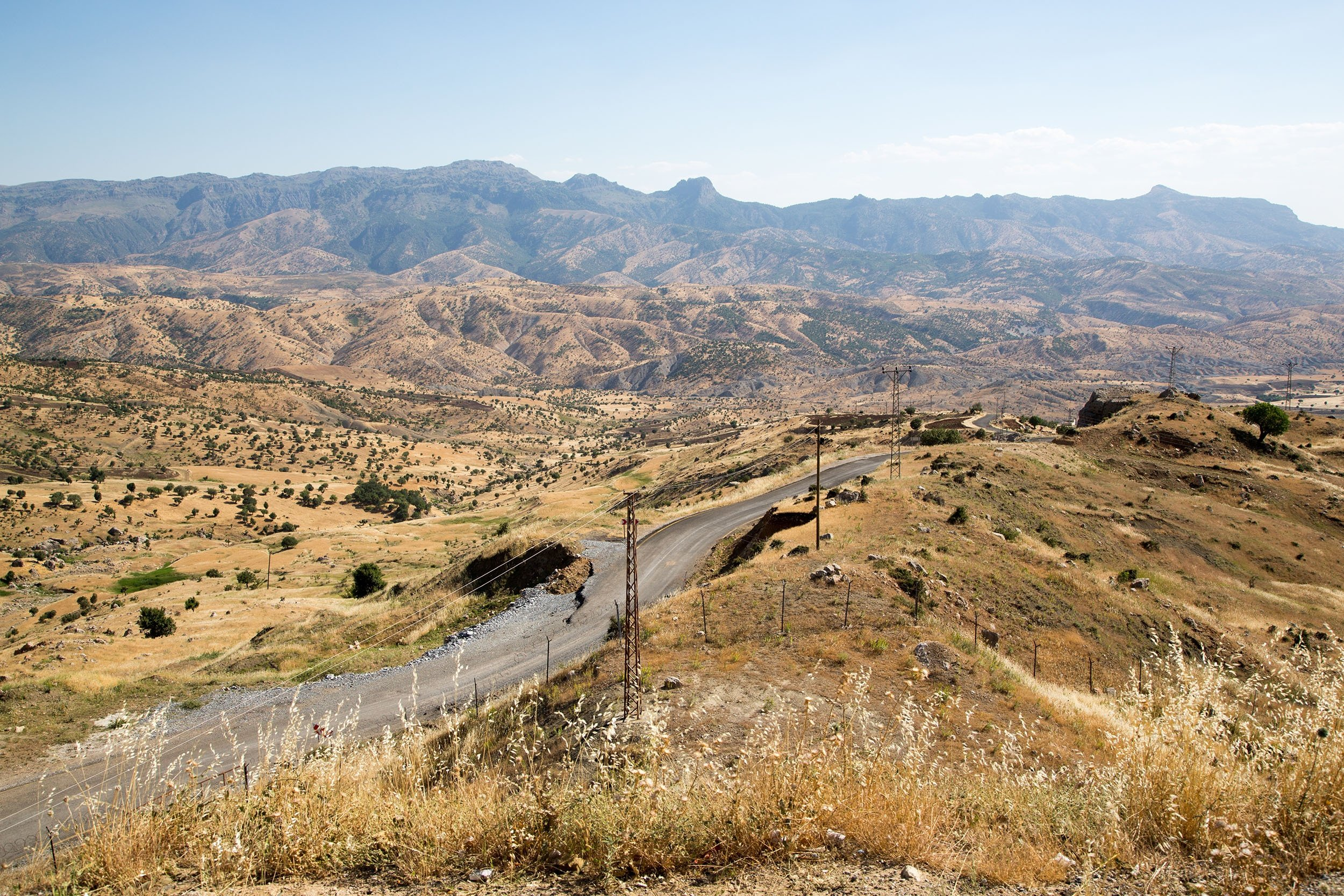 According to Islamic belief, the place where Noah's Ark descended after the flood is Mount Judi, Şırnak, southeastern Turkey. (Shutterstock Photo)