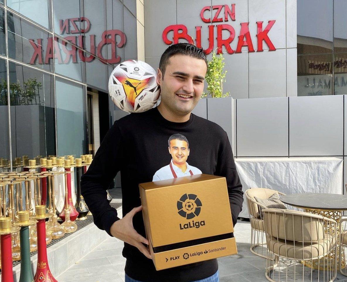 Burak Özdemir. (Photo from Instagram/ @cznburak)