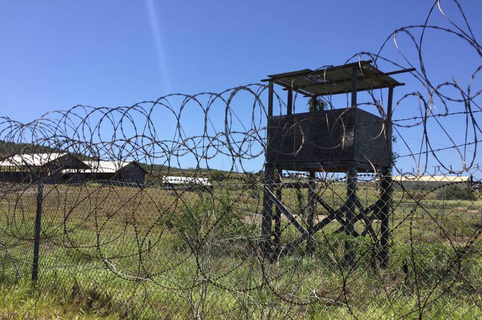 Camp X-Ray is seen at Guantanamo Bay Naval base on March 9, 2016, in Guantanamo Bay, Cuba. (AFP Photo)