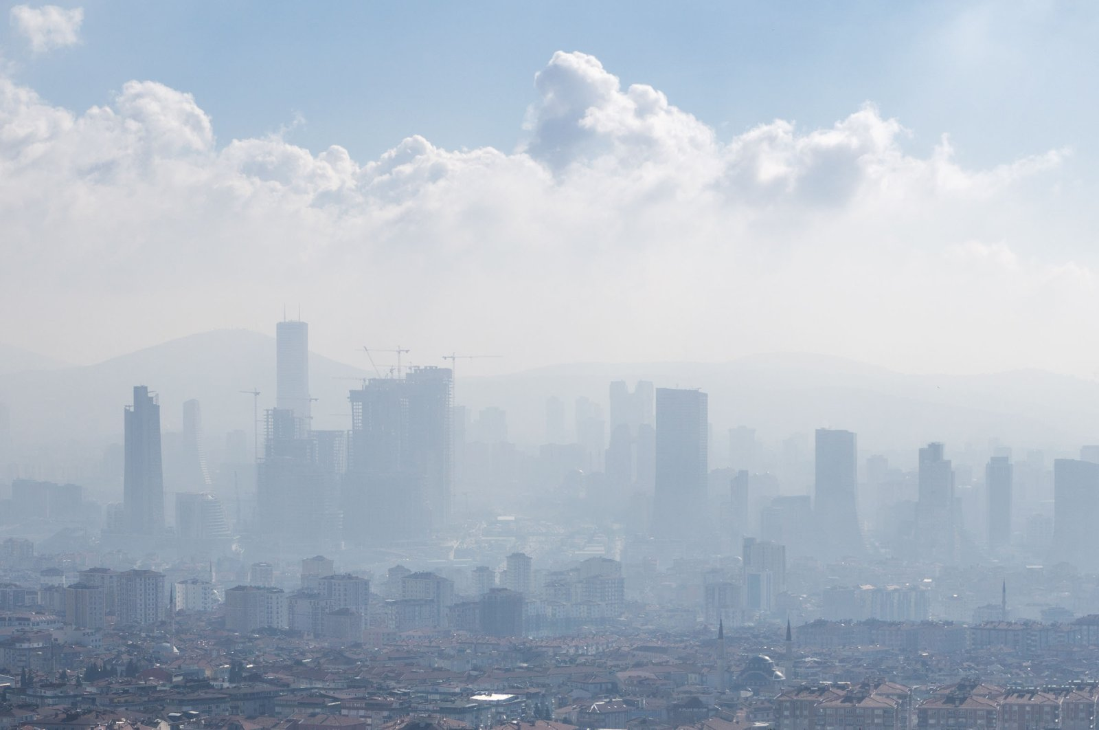 The U.N. blames air pollution for at least 7 million deaths every year, and nine out of 10 people breathe air that WHO guidelines say is unhealthy. (Shutterstock photo)