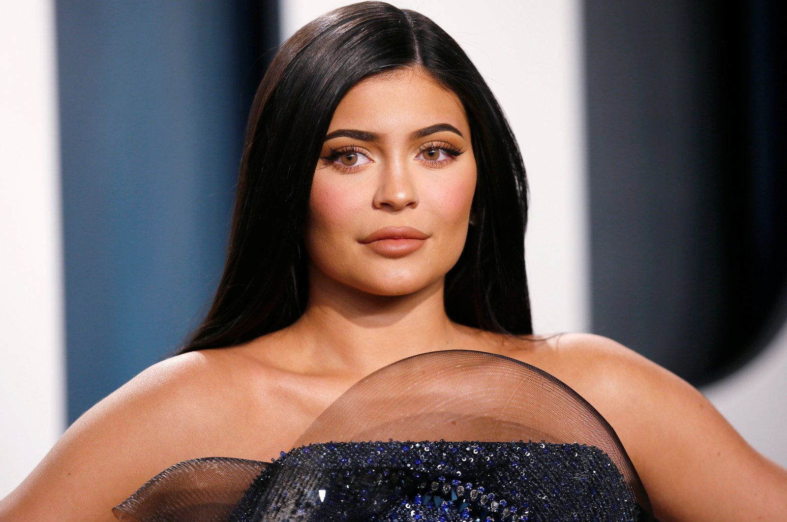 Kylie Jenner attends the Vanity Fair Oscar party in Beverly Hills during the 92nd Academy Awards, in Los Angeles, California, U.S., Feb. 9, 2020. (Reuters Photo)
