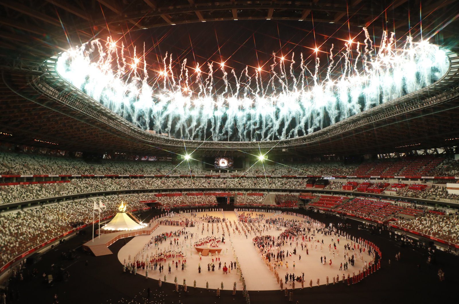 Official opening ceremony of the Olympic Games Tokyo 2020, in Tokyo National Stadium, Japan, July 23, 2021. (Shutterstock Photo)