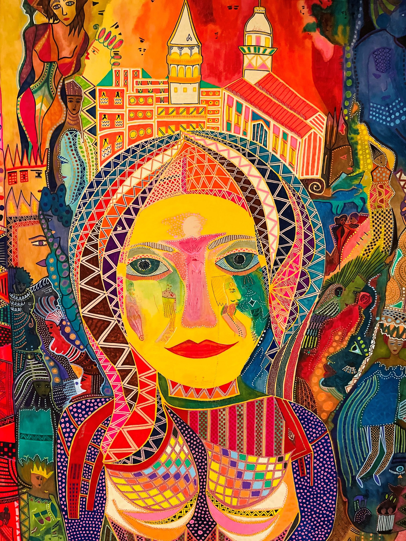 """Matmazel Istanbul"" (""Mademoiselle Istanbul"") by Serra Erdoğan."