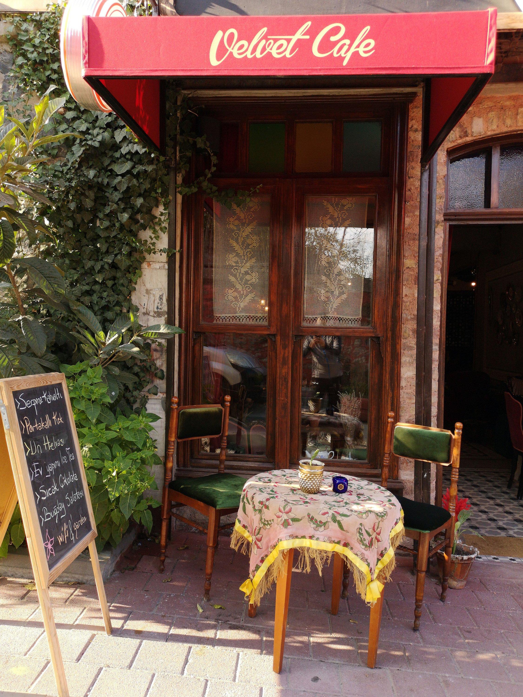Velvet Cafe inthe Balat district,Istanbul, Turkey. (Shutterstock Photo)