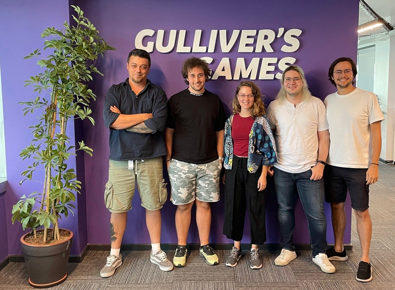 Members of Gulliver's Games are seen in this undated photo. (Courtesy of Gulliver's Games)