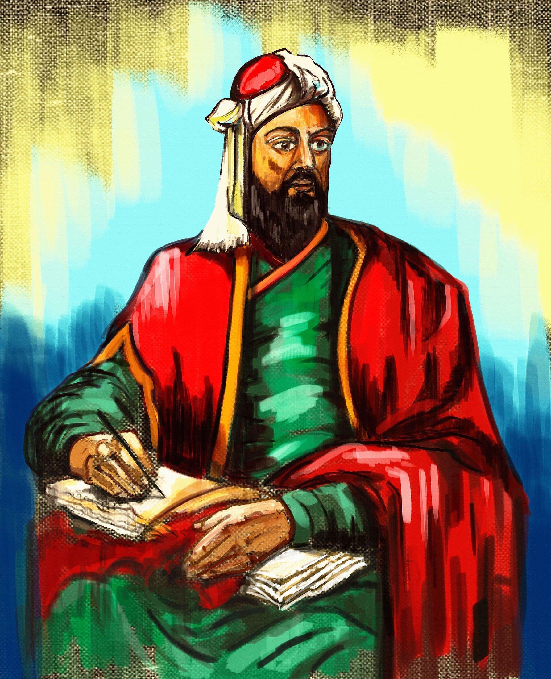 A painting depicts the likeness of Nizam al-Mulk, 11-th century statesman and vizier of the Seljuk Empire. (Shutterstock Photo)