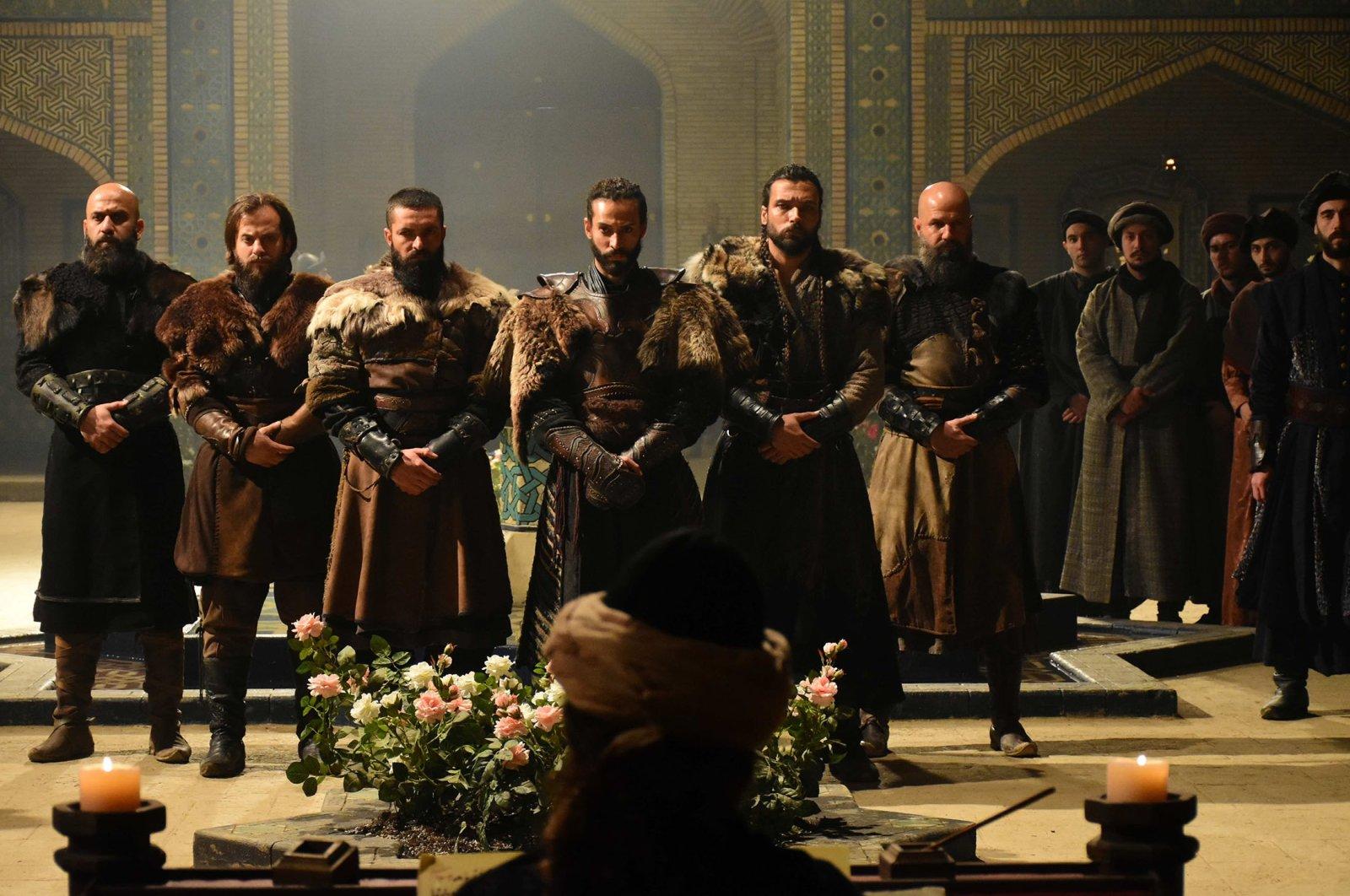 """A still shot from the Turkish TV series """"Uyanış: Büyük Selçuklu"""" (""""The Great Seljuks: Guardians of Justice""""). (Archive Photo)"""