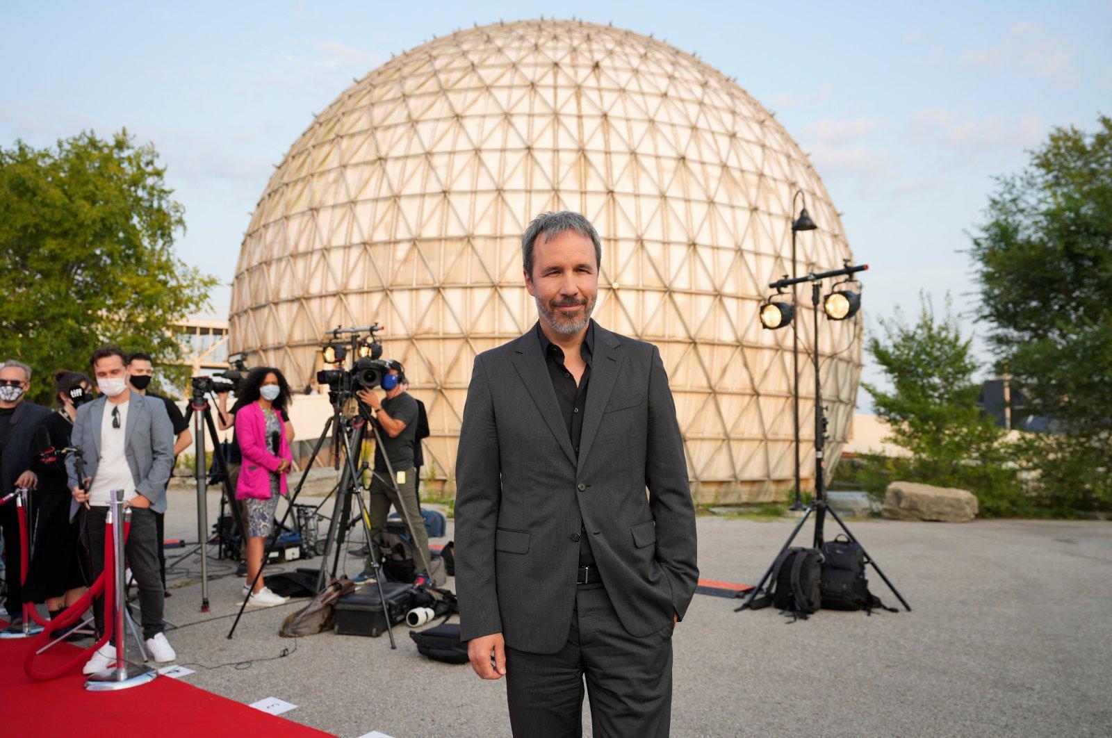 "Director Denis Villeneuve arrives for the premiere of ""Dune"" at the Toronto International Film Festival (TIFF) in Toronto, Ontario, Canada, Sept. 11, 2021. (Reuters Photo)"