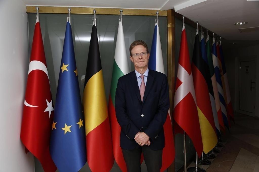 European Union Ambassador to Turkey Nikolaus Meyer-Landrut is seen at the EU delegation in Ankara, Turkey, in this undated photo. (Courtesy of the EU Delegation in Turkey)