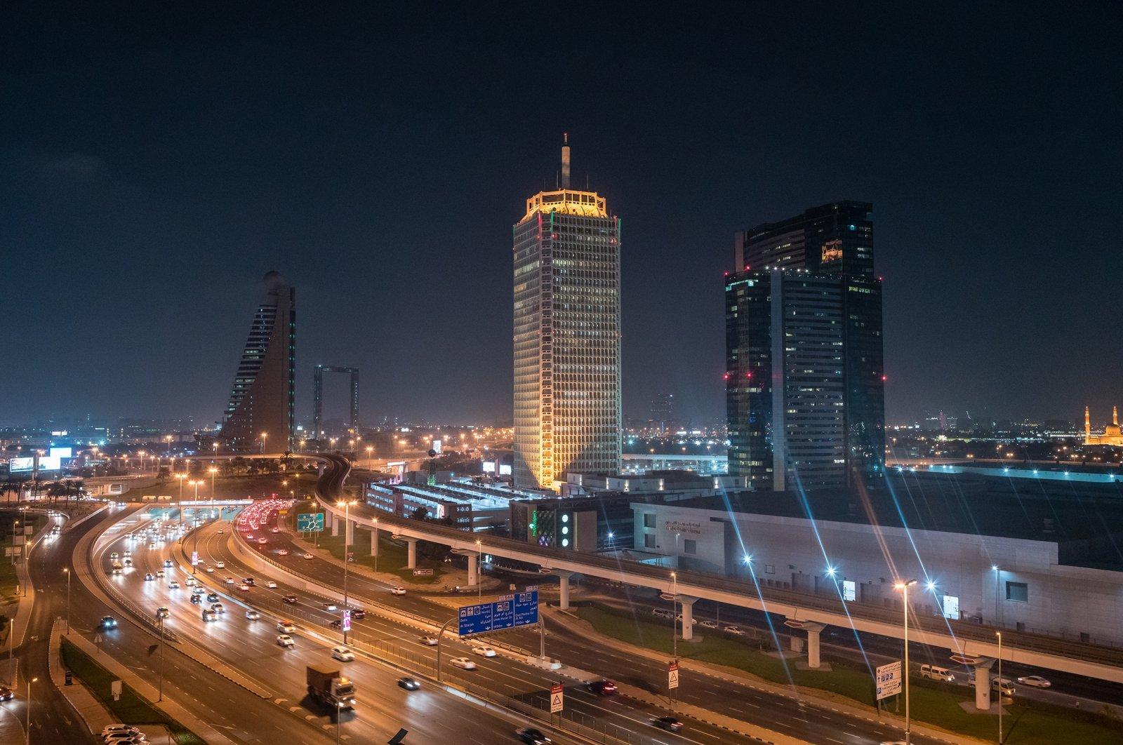 World Trade Centre and Sheikh Zayed Road, Dubai, UAE, Oct. 5, 2017. (Shutterstock Photo)