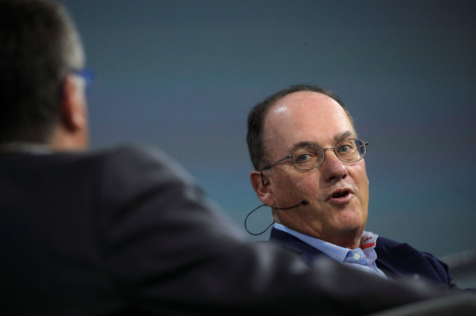 Steven Cohen, chairperson and CEO of Point72 Asset Management, speaks during the Skybridge Capital SALT New York 2021 conference in New York City, U.S., Sept. 13, 2021. (Reuters Photo)