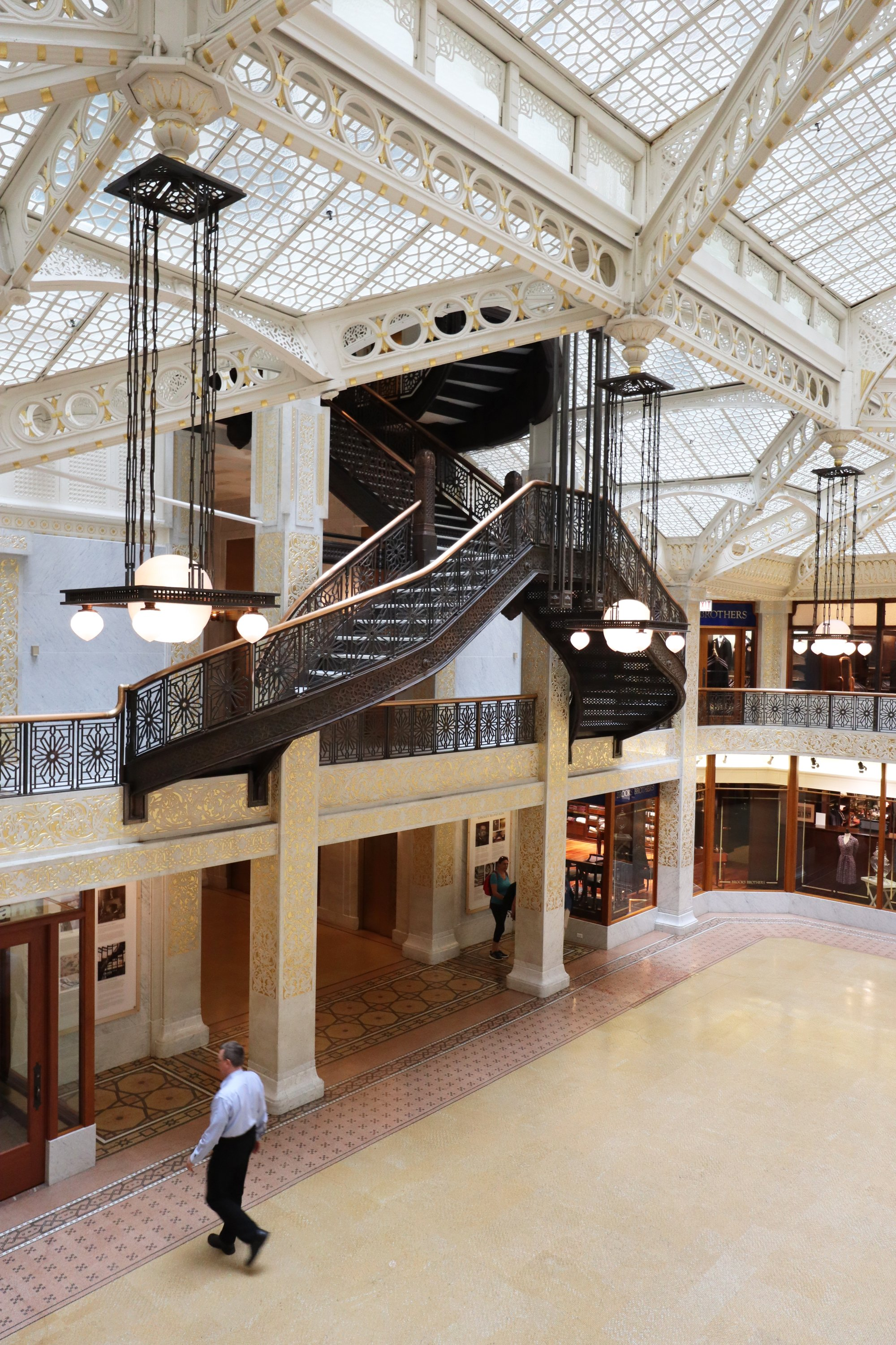 The Rookery Building in Chicago is home to the Frank Lloyd Wright Trust. (DPA Photo)