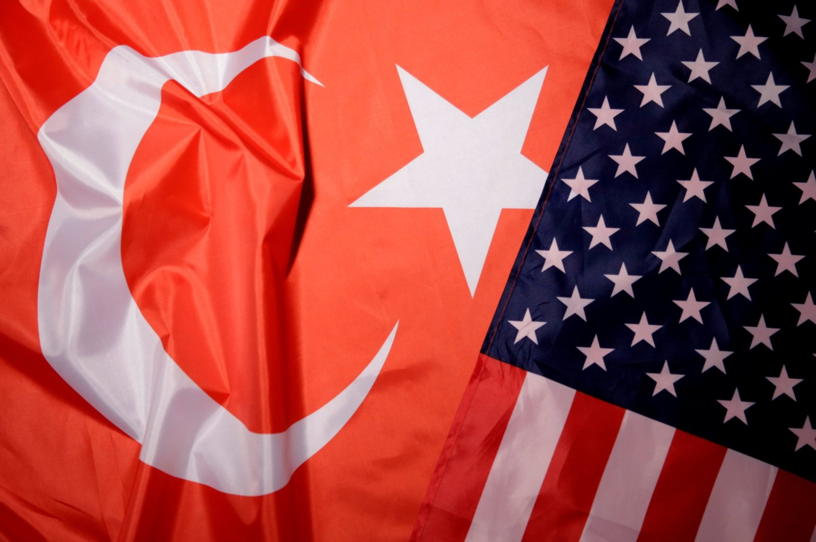 Turkey and U.S. flags are seen in this picture illustration taken Aug. 25, 2018. (Reuters Photo)