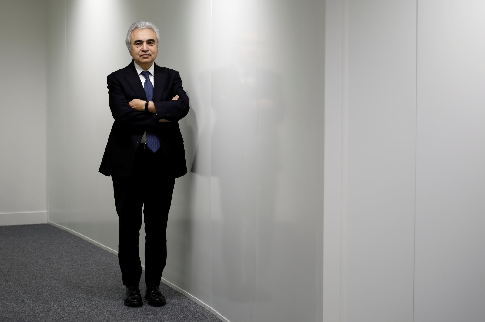 Fatih Birol, executive director of the International Energy Agency (IEA), poses for a portrait at their offices in Paris, France, Nov. 7, 2019. (Reuters Photo)