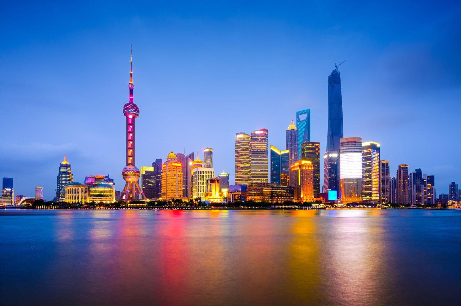 Huangpu River and skyline in Shanghai, China. (Shutterstock Photo)