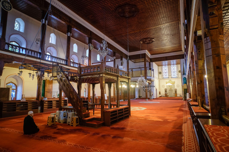 Interior of Arab Mosque, Karaköy, Istanbul, Turkey, Nov. 29, 2019. (Shuttershock images)
