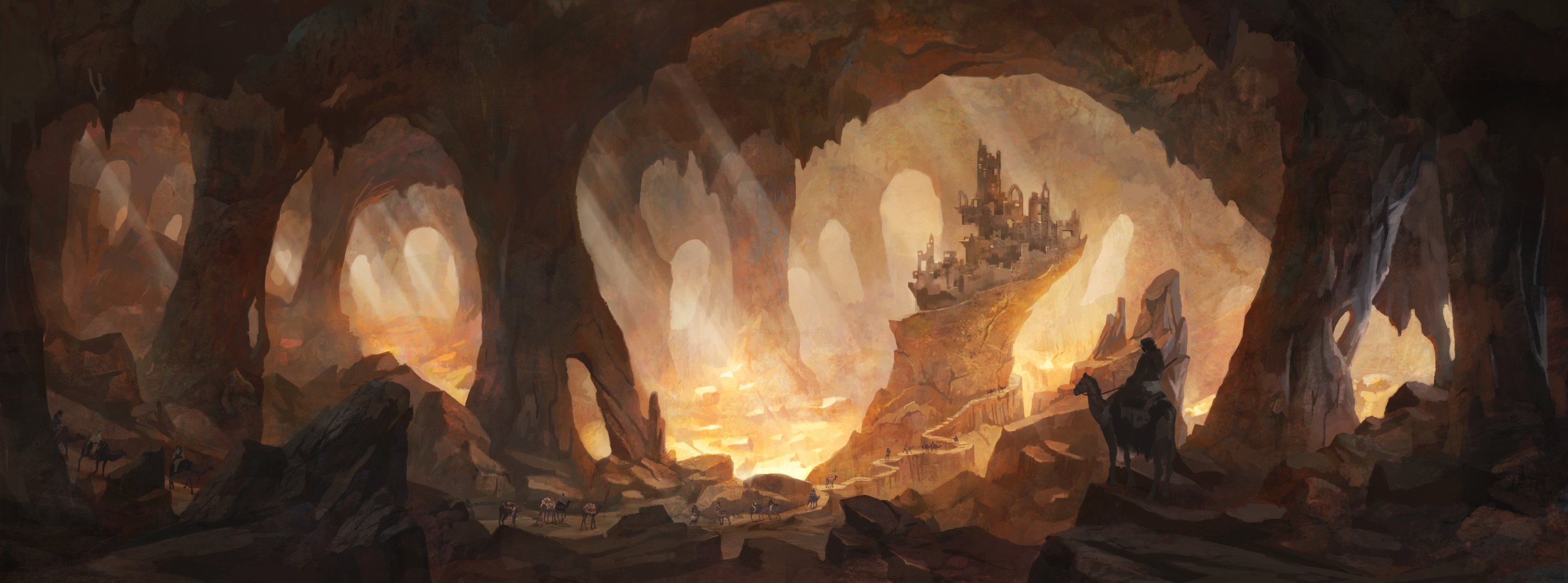 Agartha is a legendary kingdom that is said to be located in the Earth's core