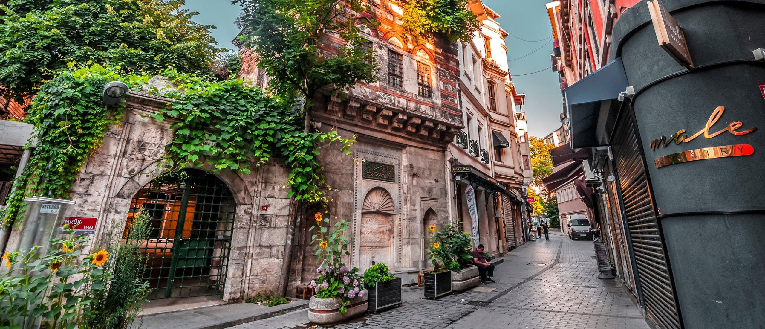 A street view of the Karaköy district of Beyoğlu, Istanbul, Turkey, June 27, 2019. (Shutterstock images)