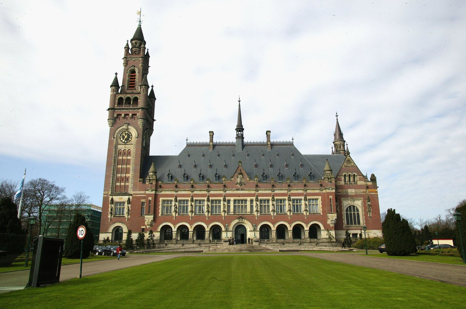 A general view of the International Court of Justice in The Hague, Netherlands, April 12, 2006.  (Getty Images)