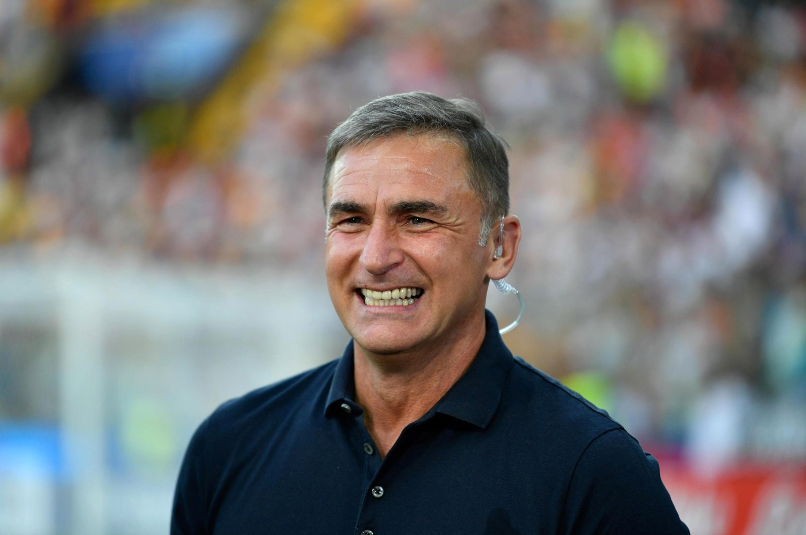 German coach Stefan Kuntz before the UEFA European Under-21 Championship 2019 final soccer match between Spain and Germany in Udine, Italy, June 30, 2019. (EPA Photo)
