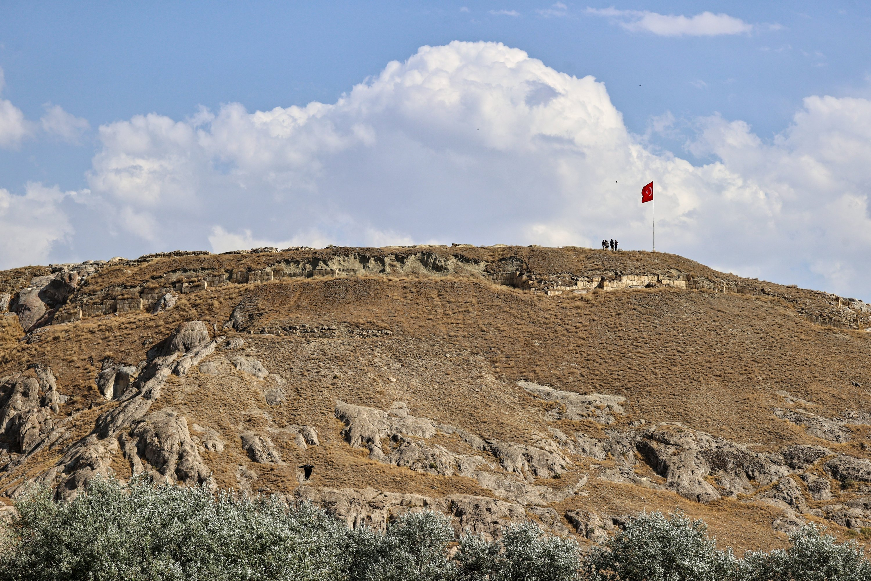 A general view from the Çavuştepe Castle, Van, eastern Turkey, Sept. 19, 2021. (AA Photo)