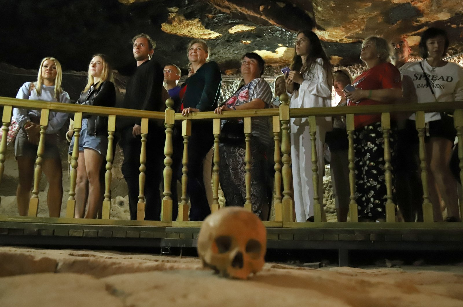 St. Mercurius, an underground city in central Turkey, dazzles visitors with its ancient tombs. (AA Photo)