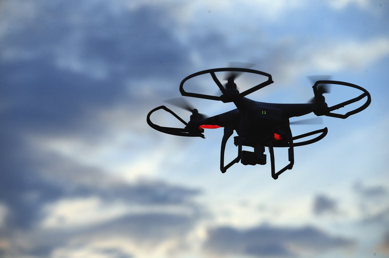 A drone is flown for recreational purposes in the sky above Old Bethpage, New York, U.S., August 30, 2015. (Getty Images)