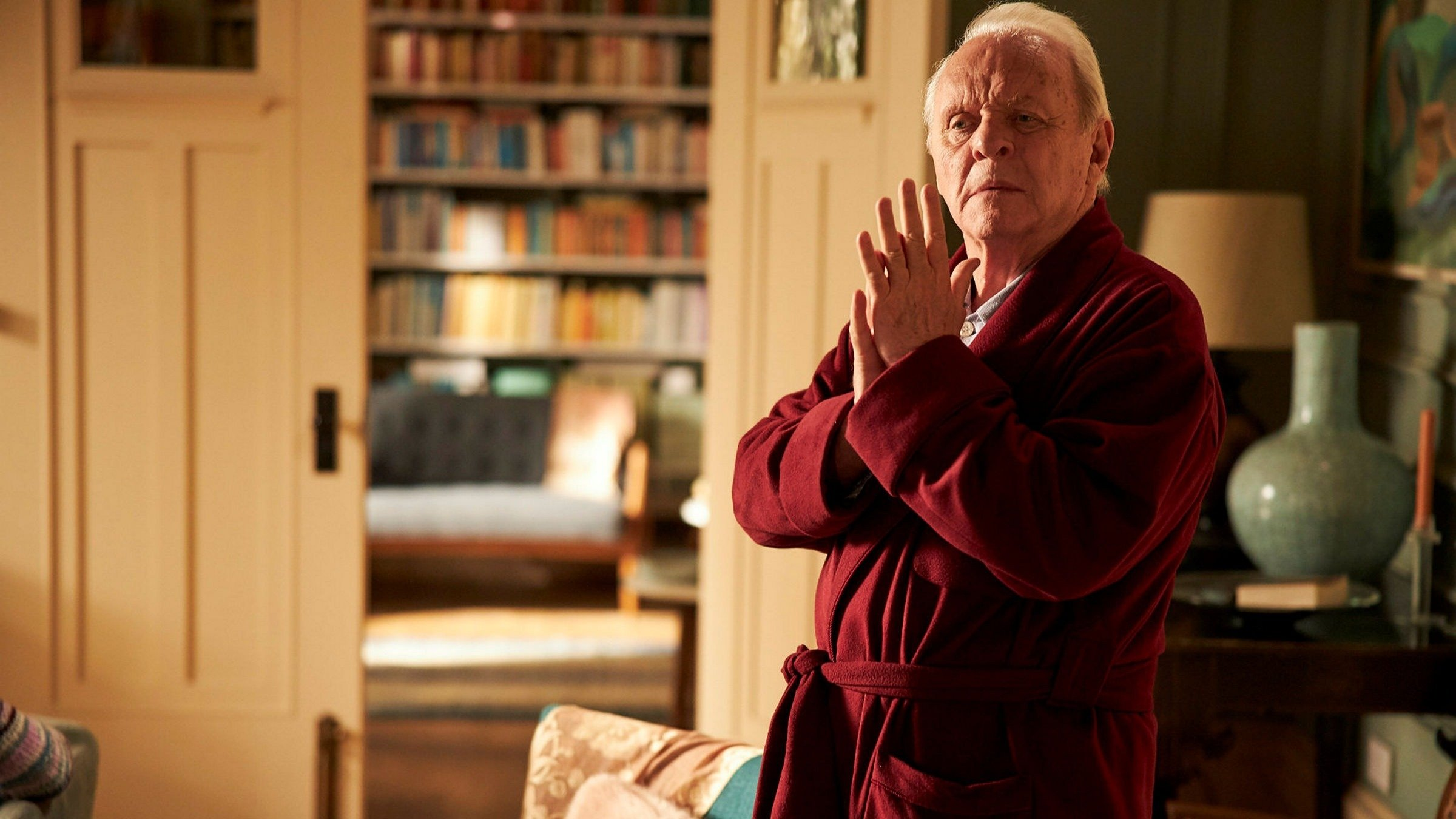 Anthony Hopkins won the Best Actor Oscar at the 93rd Academy Awards with his role in 'The Father.'