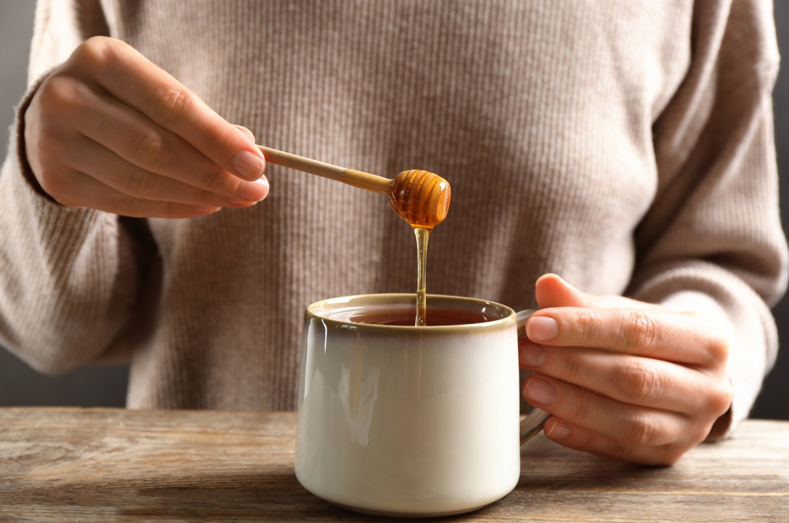 To make the honey liquid again, give it a water bath or put it in the oven. (Shutterstock Photo)
