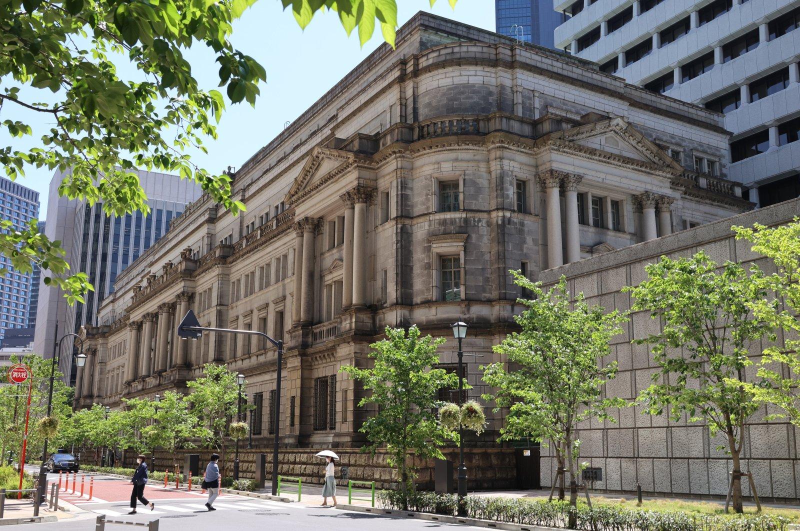 The headquarters of Bank of Japan (BOJ) in Tokyo, Japan, April 26, 2021. (Reuters Photo)