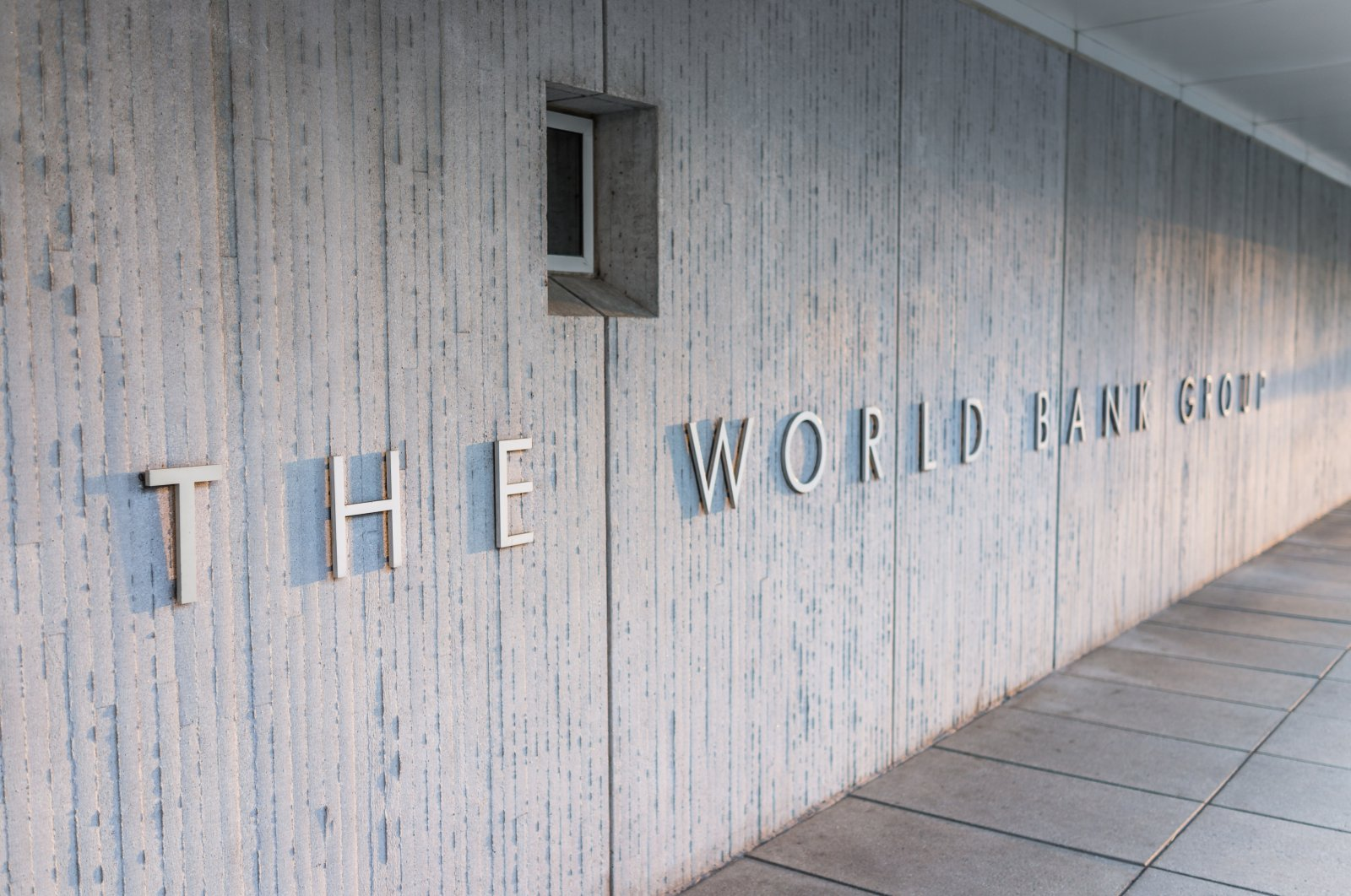 The World Bank Group sign on the exterior of the building, Washington, D.C., U.S., March 4, 2017. (Shutterstock Photo)