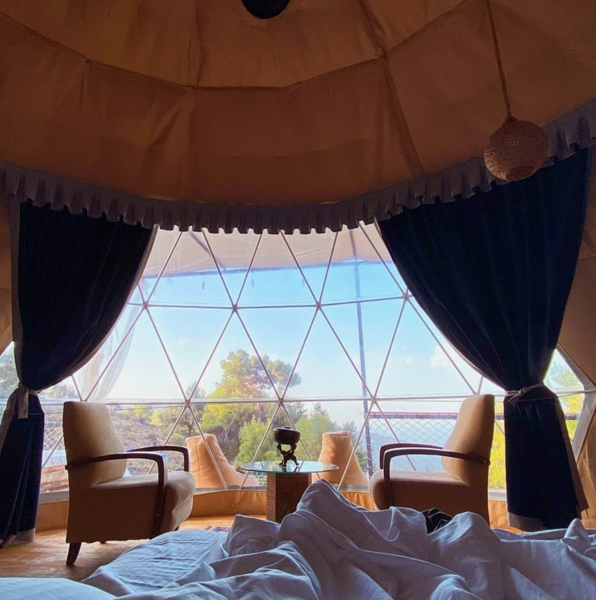Turkdomes Glamping. (Photo from Instagram / @turkdomes)