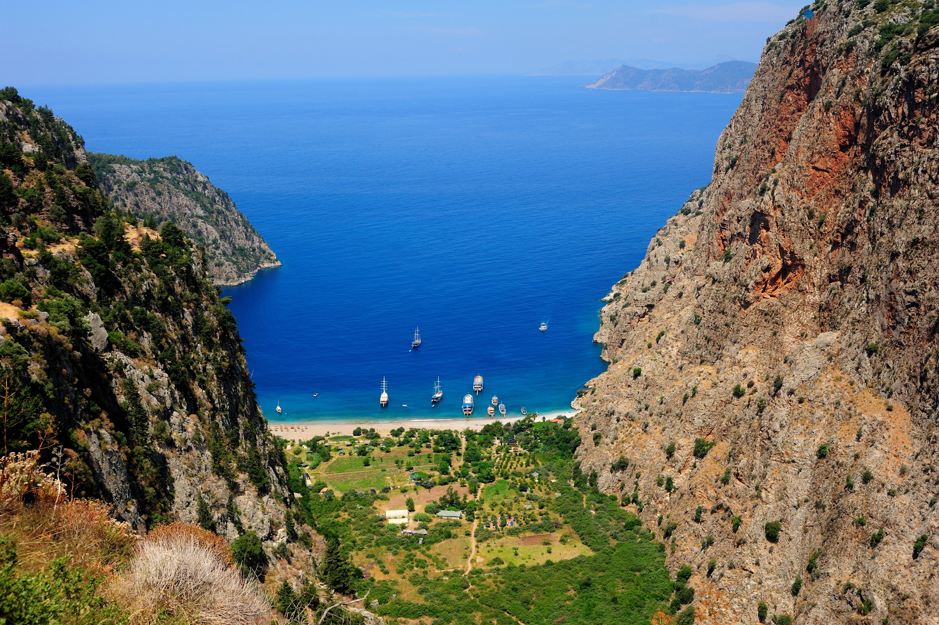 A view of Butterfly Valley. (Shutterstock Photo)
