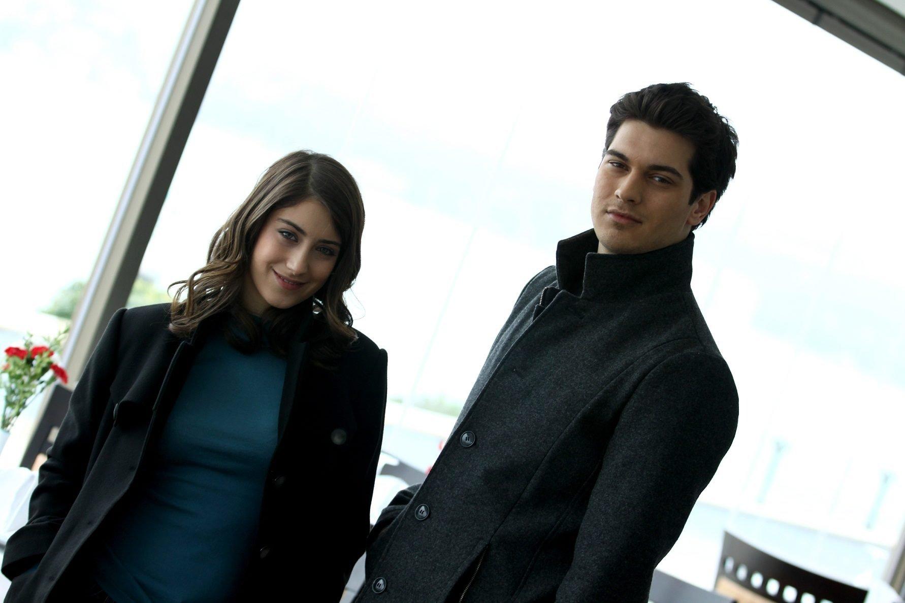 This still shot shows Hazal Kaya (L) and Çağatay Ulusoy in 'Adını Feriha Koydum' (The Ottoman), originally aired by Turkish broadcaster Show TV.