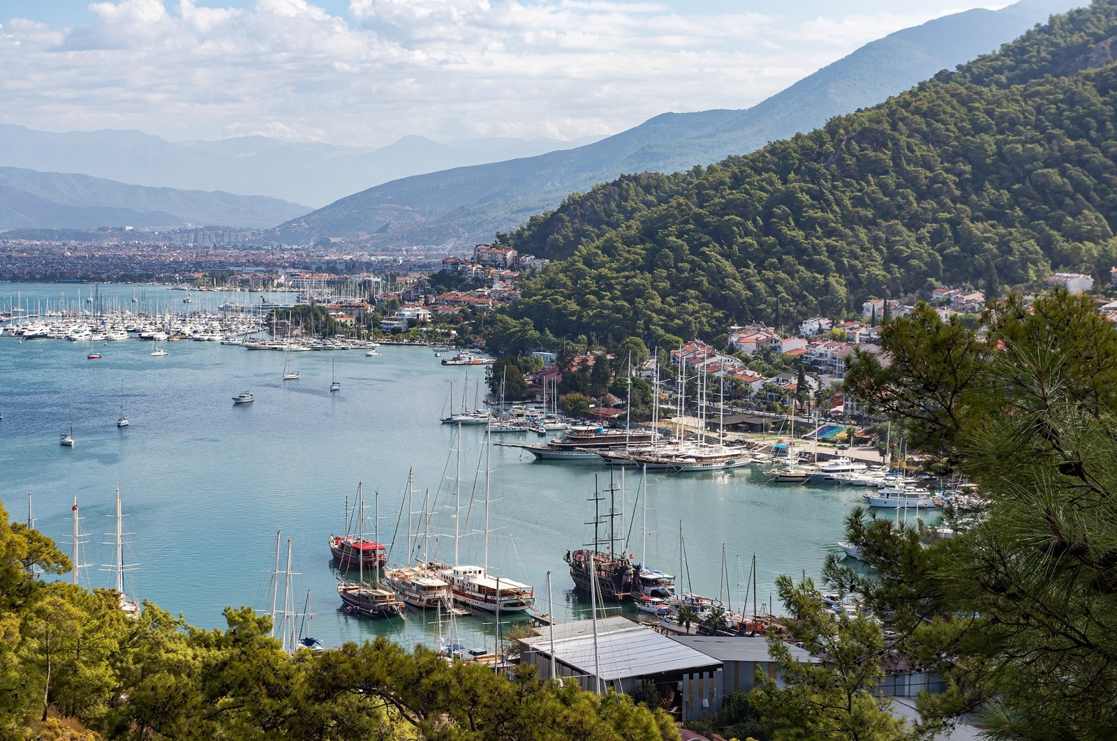 A view of the Gulf of Fethiye. (Shutterstock Photo)