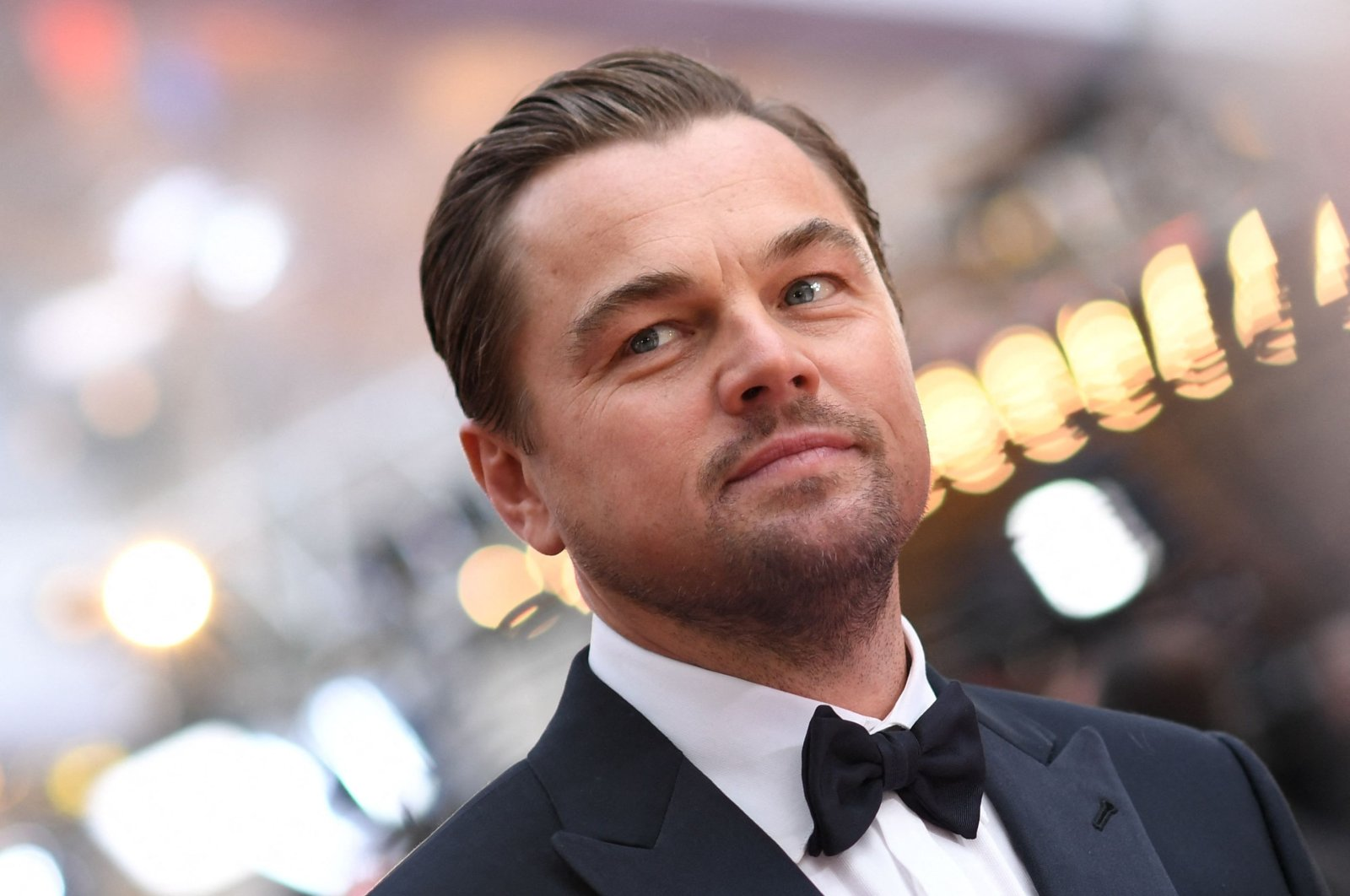 In this file photo, U.S. actor Leonardo DiCaprio arrives for the 92nd Oscars at the Dolby Theatre in Hollywood, California, U.S., on Feb. 9, 2020. (AFP Photo)