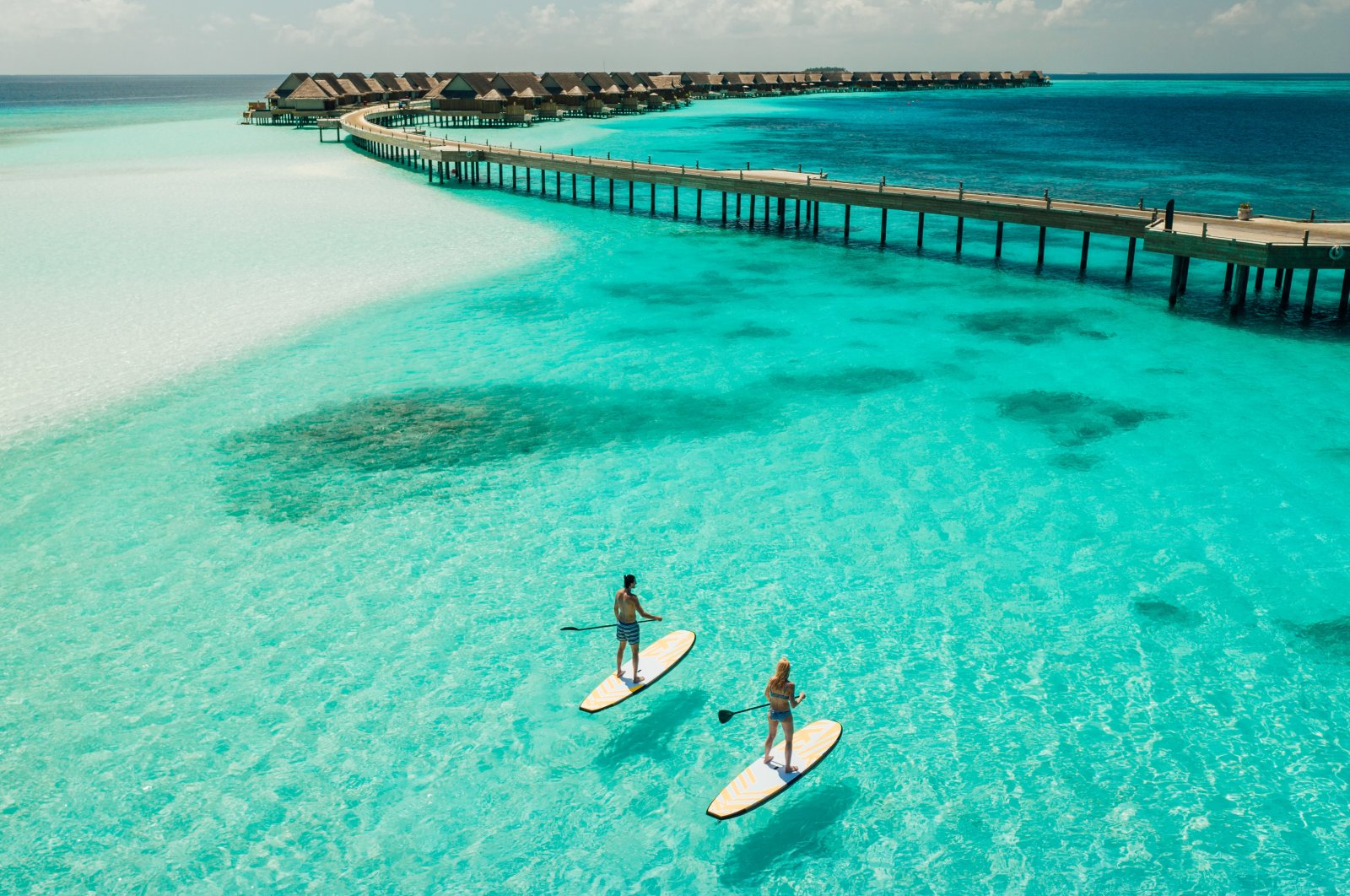 Pristine waters and silky smooth beaches, the Maldives is like a scene straight from paradise. (Photo courtesy of Joali Maldives)