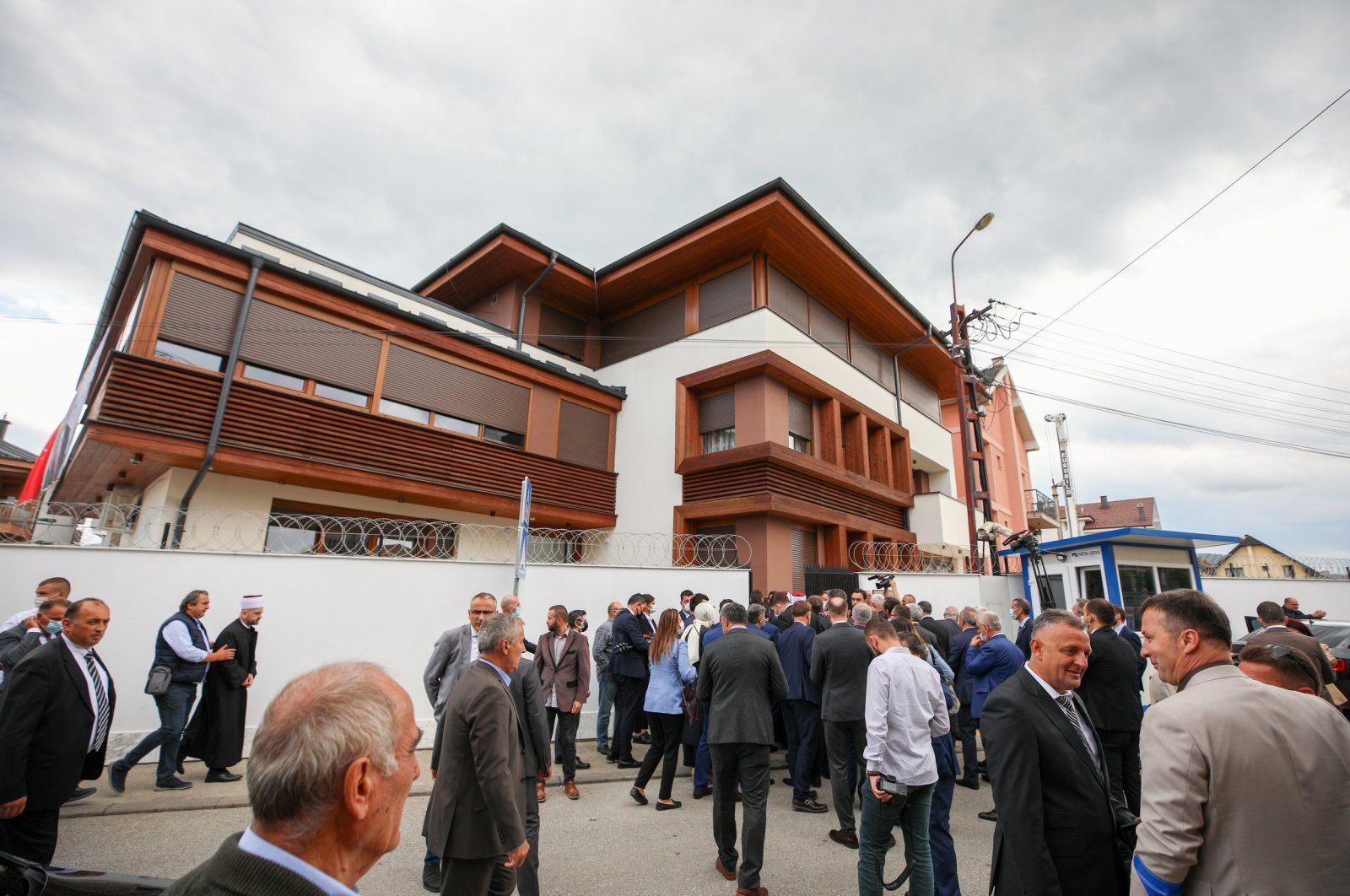 Turkey's consulate in Novi Pazar was opened earlier this month, Novi Pazar, Serbia, Sept. 1, 2021. (AA Photo)