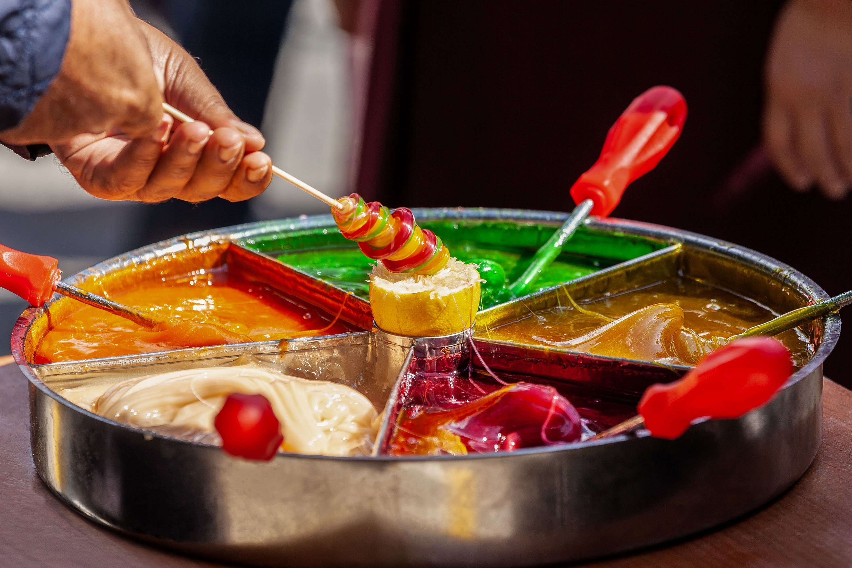 sweet traditional ottoman dessert,
