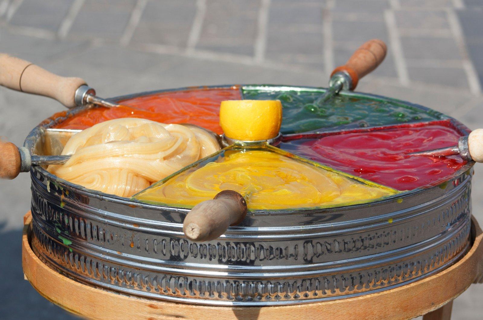 """Sweet traditional Ottoman dessert, """"Macun."""" (Shutterstock Photo)"""