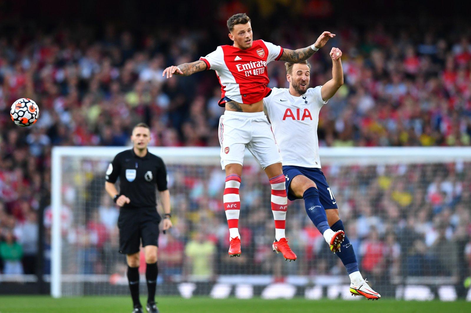 The Premier League Arsenal versus Tottenham Hotspur football game in Emirates Stadium, London, Britain, Sept. 26, 2021. (Reuters Photo)