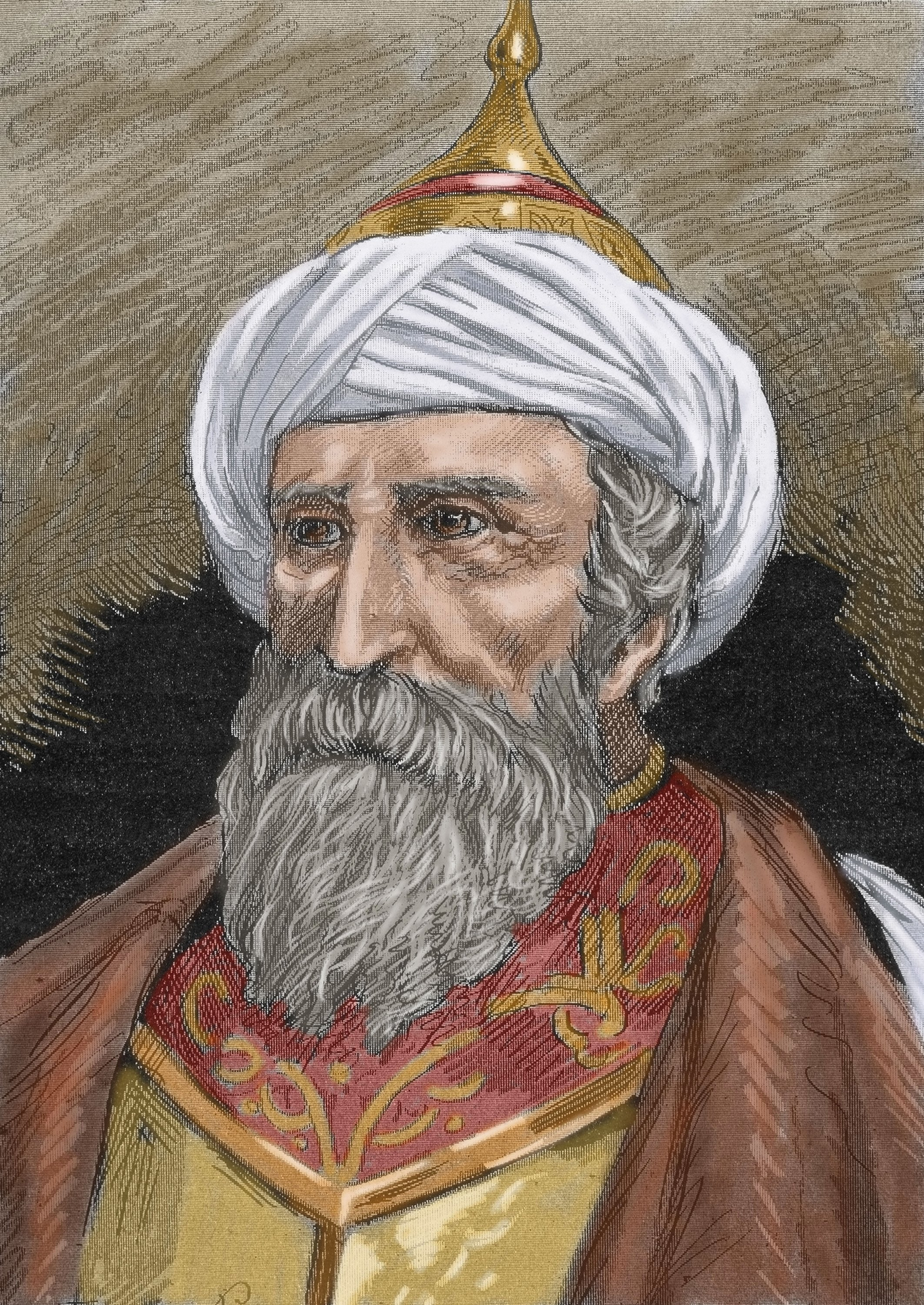 A portrait of Ottoman statesman and naval officer Muezzinzade Ali Pasha. (Getty Images)